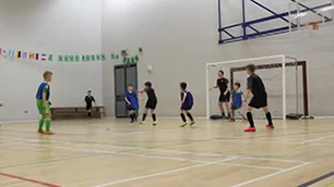 U10 corner flick goal in normal time
