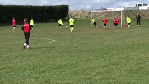 Excellent team goal. Cado unselfishly makes t
