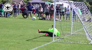 Amazing u8s Double Save for Lambeth Tigers at