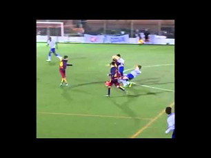 Great dribbling from U13 Barcelona star