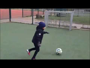 Luca footballtalent 5 years old - Luca 5 Jahr