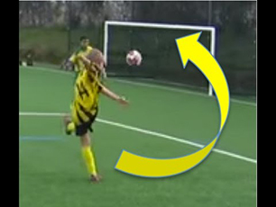 CRAZY GOAL - AARON ONE YOUNG FOOTBALL TALENT