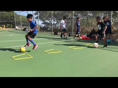 Ballmastery Training Session - Landon Antonio