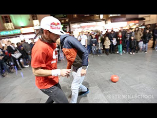 Insane STREET Football Skills - Panna London