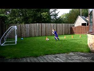 4 Year Old Footballer Harlan (HGH)